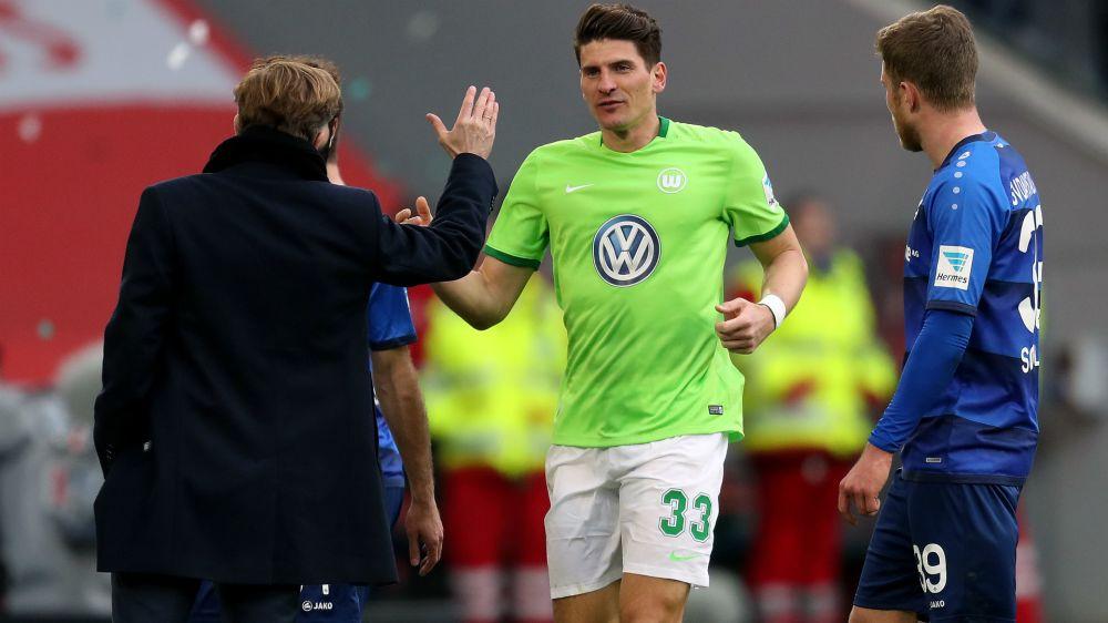 Mario Gomez bleibt beim VfL Wolfsburg