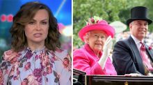 'Not good enough': Lisa Wilkinson slams royal family over Prince Andrew saga