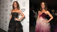 Kate Beckinsale goes from seductress to sweetie pie with a quick outfit change
