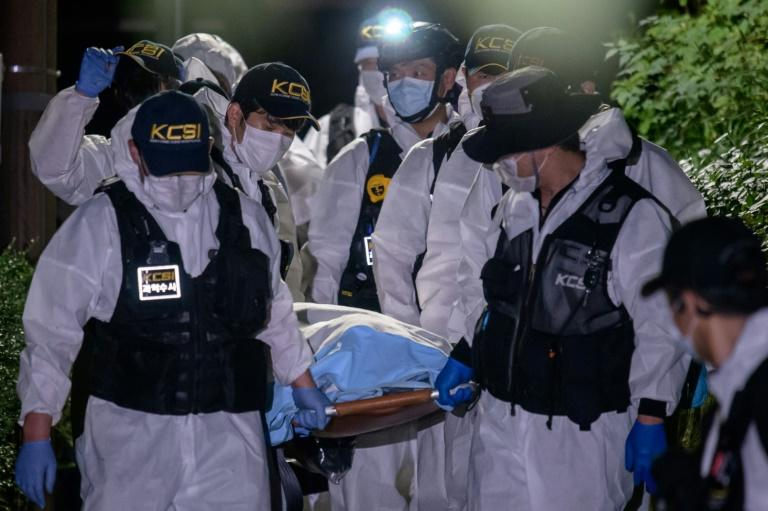 Seoul mayor Park Won-soon's body was recovered on a mountain in the South Korean capital (AFP Photo/Ed JONES)