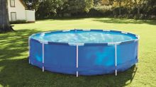 Lidl is selling a 12-foot swimming pool for under £100