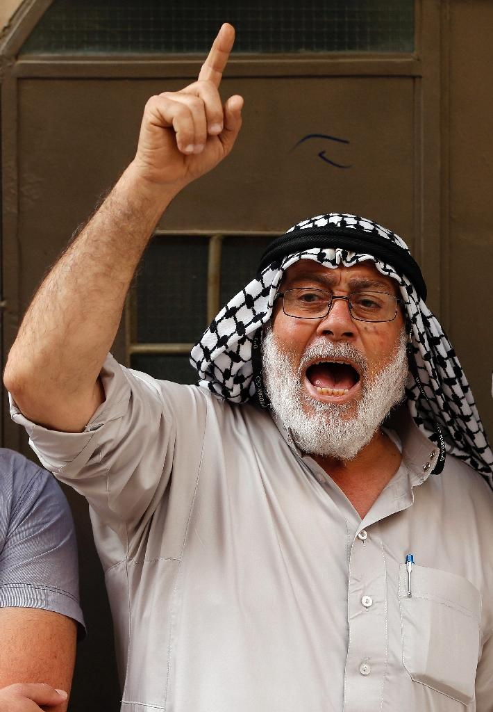 The Murabitat (for females) and Murabitun groups are made up of east Jerusalem Palestinians and Israeli Arabs (AFP Photo/Ahmad Gharabli)