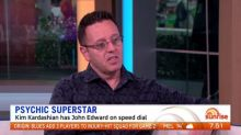 Famous psychic John Edward joins Sunrise
