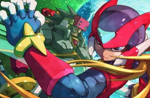 Collect some Mega Man Zero Collection screens and art