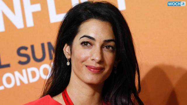 Clooney's Fiancee To Serve On Gaza Rights Probe