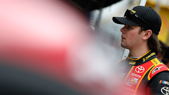 Erik Jones gets first career pole in Cup series