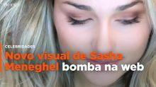 Novo visual de Sasha Meneghel bomba na web