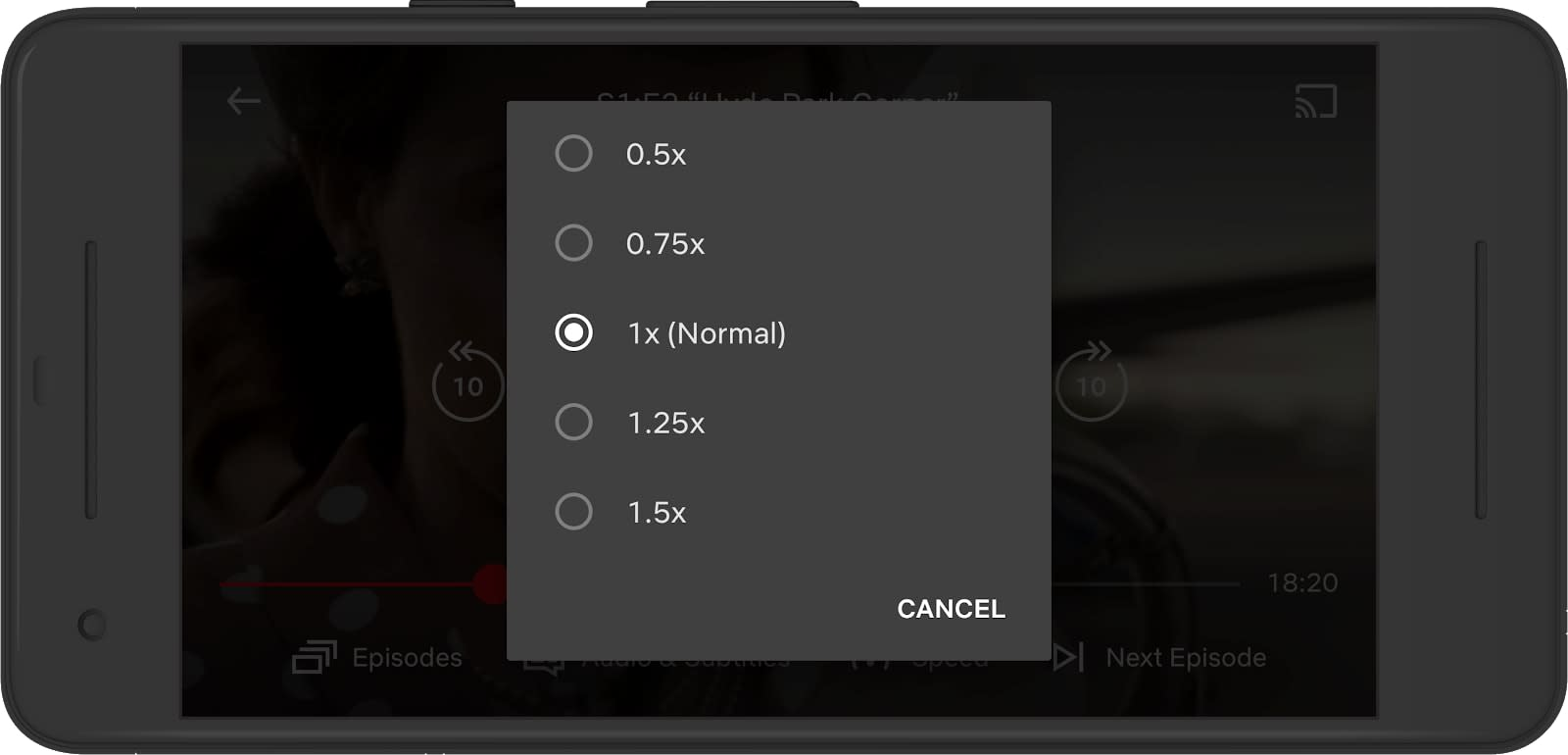 Netflix Variable Speed