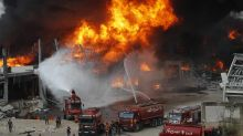 Huge fire at Beirut port sows panic after last month's blast