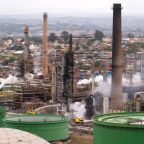 Blast-rocked South African oil refinery shut down for investigations