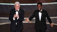 Non-hosts Steve Martin and Chris Rock open 2020 Oscars with jaw-dropping vagina monologue