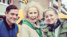 First look at Catherine Tate's 'Nan' movie