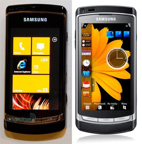 Windows Phone 7 Series device from Samsung is just a hacked i8910 HD