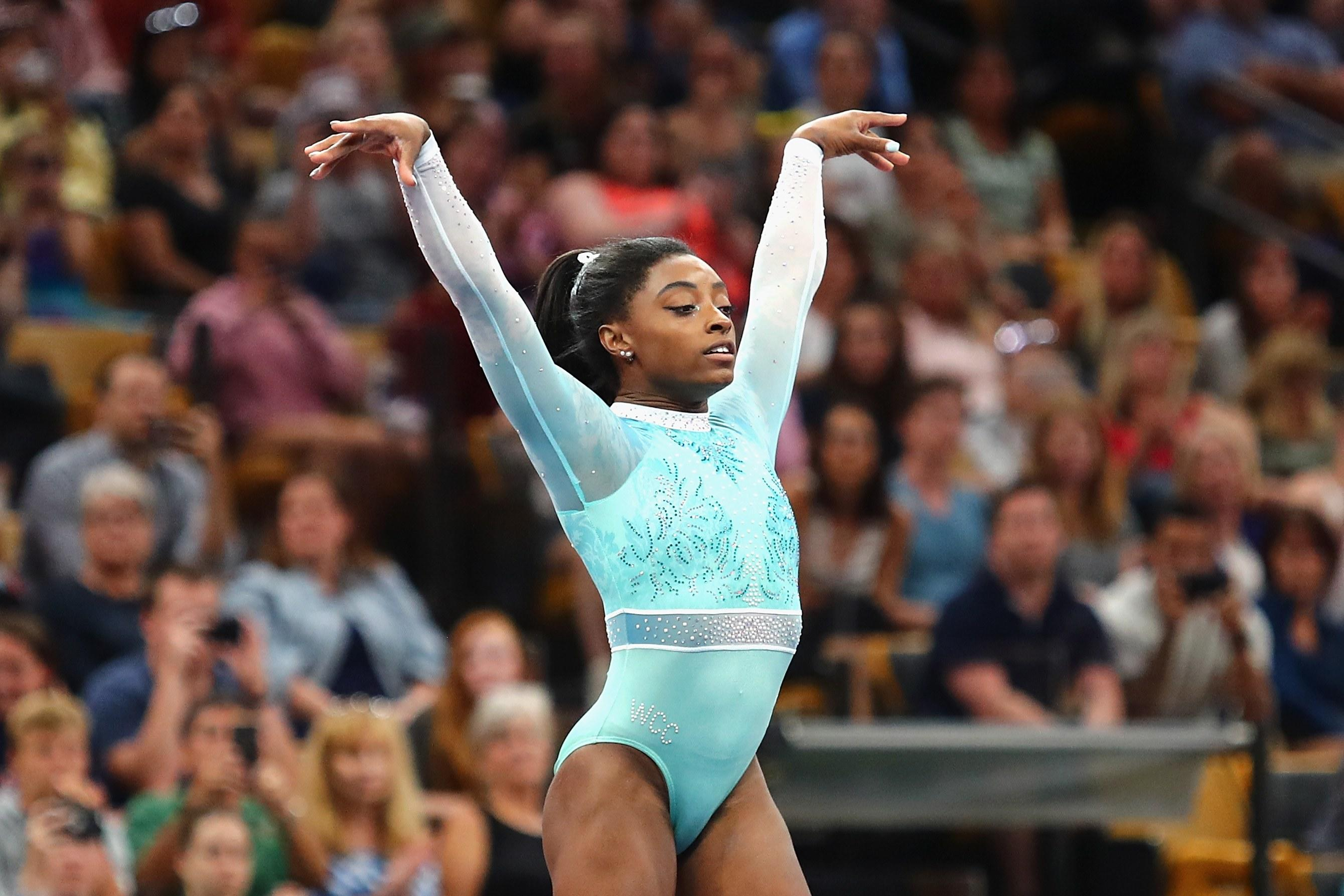 Simone Biles Calls Out USA Gymnastics CEO Mary Bono Over Anti-Nike Tweet