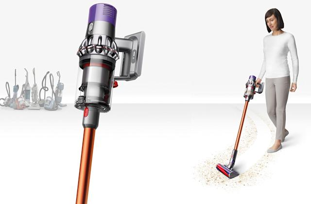 Dyson to go all cordless with vacuums, starting with the Cyclone V10
