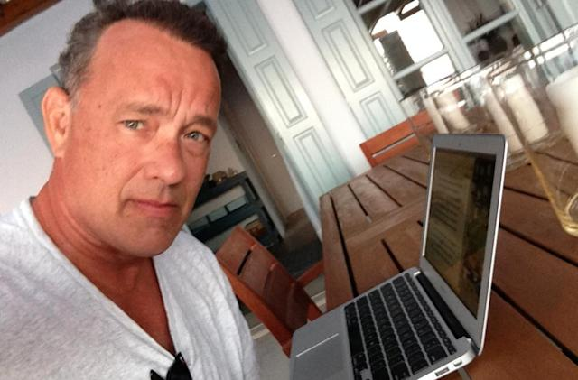 Chat with Tom Hanks on the @AppStore Twitter account about his new writing app