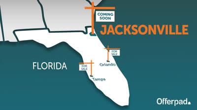 Offerpad to Enter Third Florida Market in Jacksonville