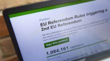 Anti-Brexit-Petition bringt Regierungsseite zum Absturz