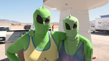 'It's happening': Alien enthusiasts descend on Area 51 for a UFO party