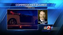 Longwood city commissioner involved in serious rollover crash