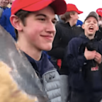 MAGA Hat-Wearing Teens Harassing Native American Elder Spark Condemnation From Hollywood