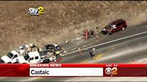 Woman Killed In I-5 Crash Near Castaic