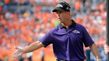 Ravens coach John Harbaugh isn't going to beg WRs to play for Baltimore