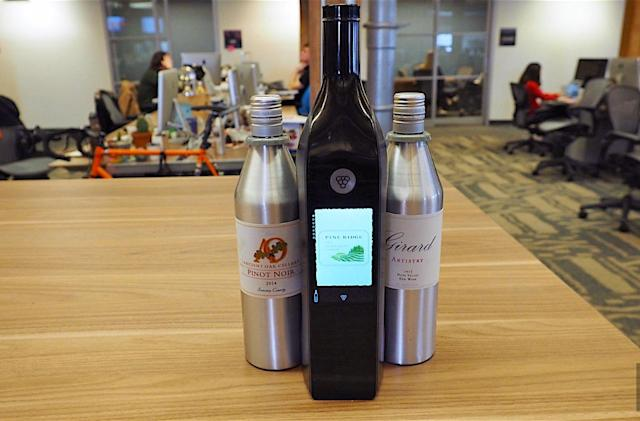 Kuvee's smart bottle is like a Keurig, but for wine