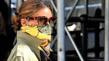 Olivia Palermo's Scarf Tying Mask Tutorial on Instagram Is a Real Must-See