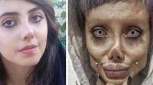 """Influencer iraniana é presa por """"se parecer com Angelina Jolie"""""""