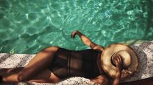 Shop Halle Berry's sexy swimsuit on sale for Labor Day