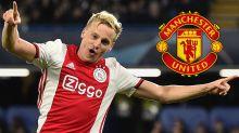 Van de Beek moving to a 'great club' in Man Utd, says Liverpool defender Van Dijk