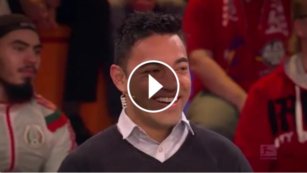 VIDEO: Marco Fabián luce su alemán en entrevista