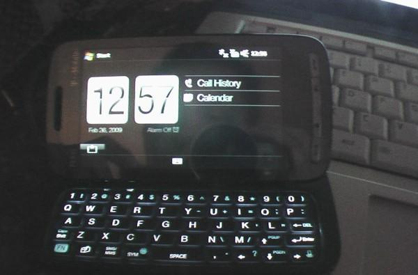 T-Mobile-branded HTC Touch Pro2 appears in the wild