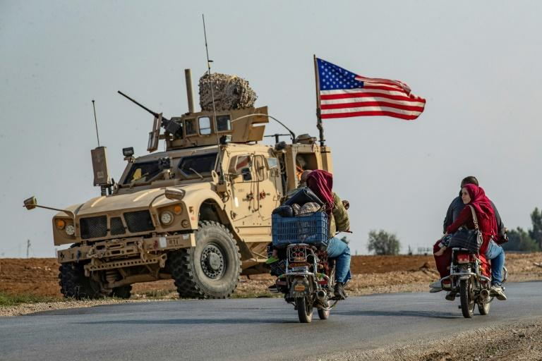 US forces that had been acting as a buffer between Turkey and the Kurds, both theoretically US allies, pulled back from the border at the beginning of October (AFP Photo/Delil SOULEIMAN)
