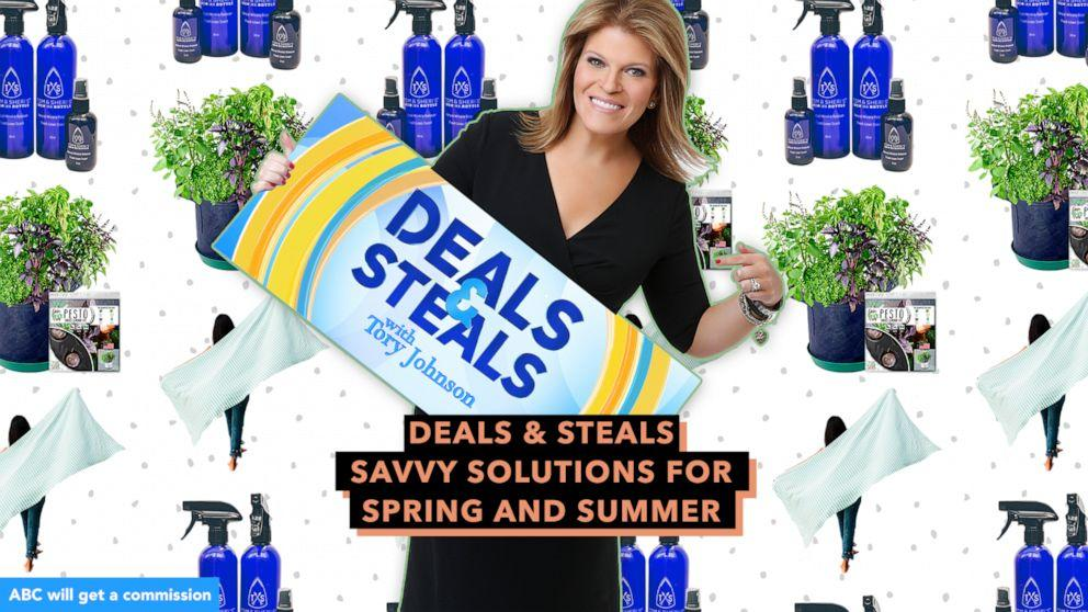 Gma Deals And Steals On Savvy Solutions For Spring Summer