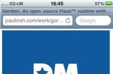 Flash on the iPhone, in demo form