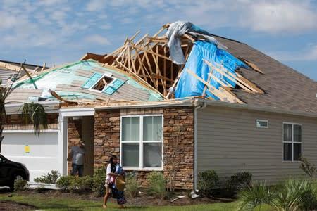 Hurricane Dorian floods island as it swipes North Carolina then heads north