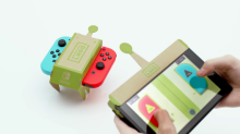 Nintendo just unveiled Labo, a $69 cardboard controller for the Switch you have to build yourself