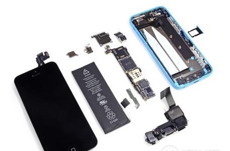 iFixit tears down the iPhone 5c