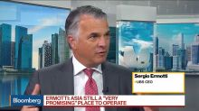 UBS CEO Ermotti Says Asia Is 'Very Promising Place' to Operate