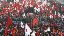Tens of thousands protest against Nepal's prime minister