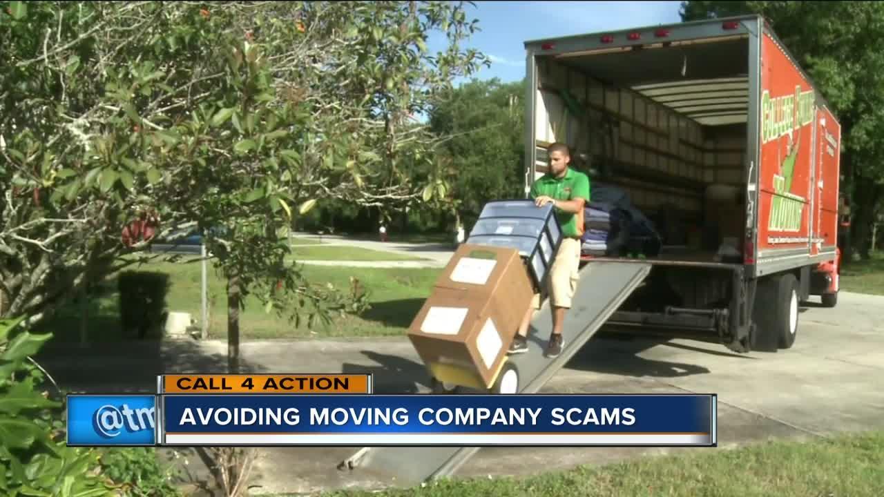 Tips to avoid moving company scams [Video]