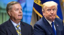 Nobody can call Trump a 'kook' around Lindsey Graham, who called Trump a kook