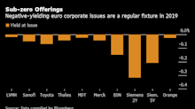 Investors Regret Not Buying Most Negative-Yielding Bond Sold