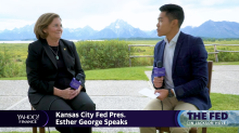 Kansas City Fed President Esther George talks next steps on rates with Yahoo Finance