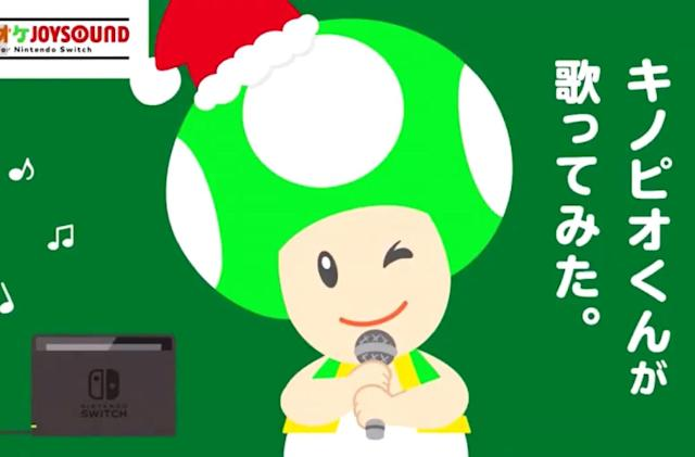 Nintendo sends Toad to ruin your Christmas with a terrible carol