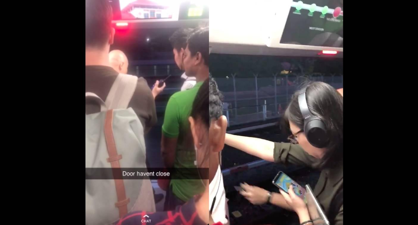 SMRT explains why train moved off from Ang Mo Kio station with door open