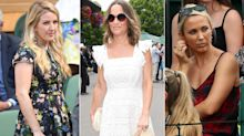 Pregnant Pippa Middleton leads best dressed celebs at Wimbledon