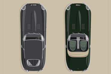 向經典跑車E-Type致敬,JAGUAR打造復古紀念車款E-Type 60周年典藏版